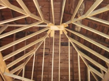 Trey Ceiling in the Master Bedroom