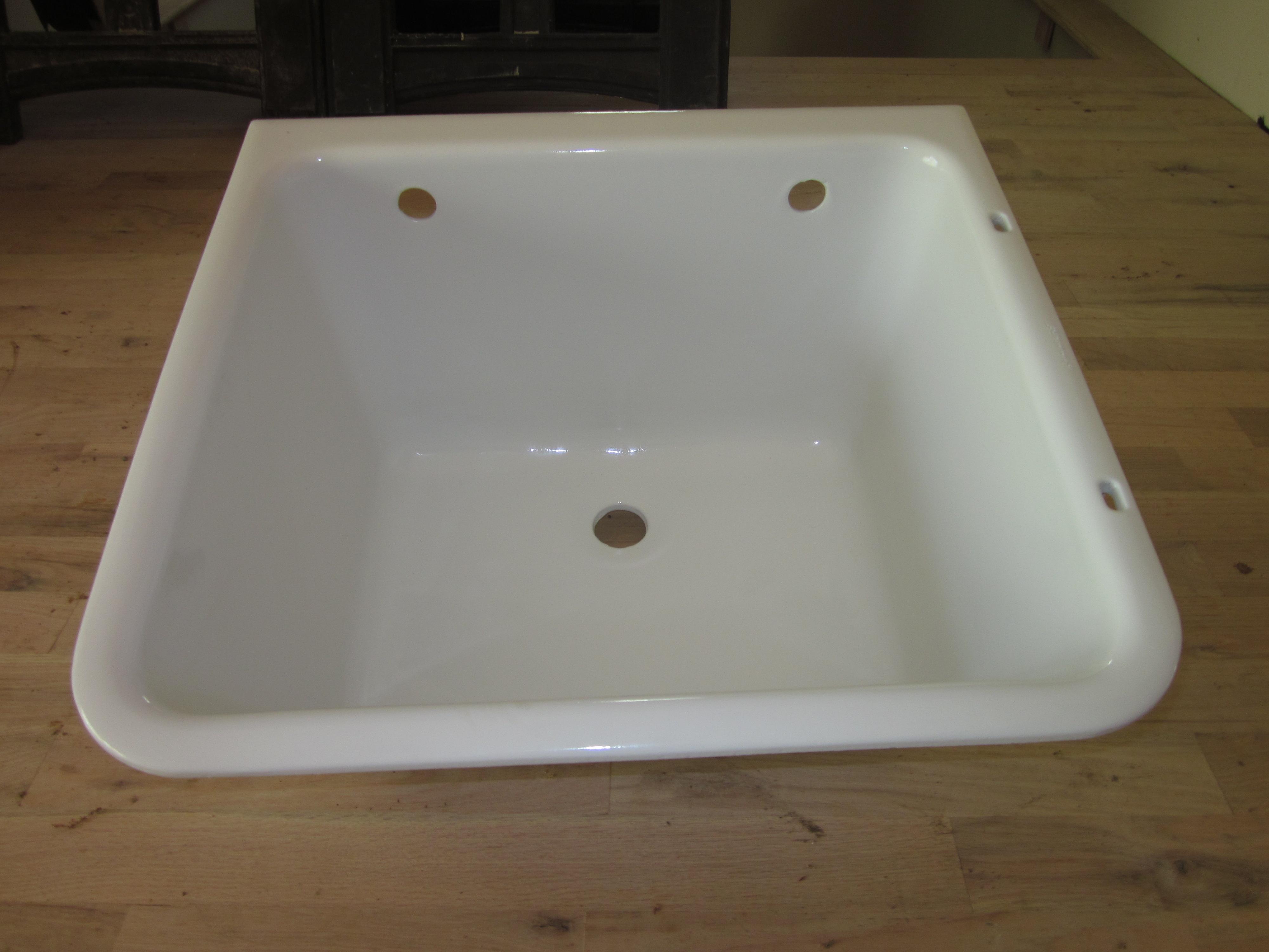 Resurfacing an ole Cast Iron Sink